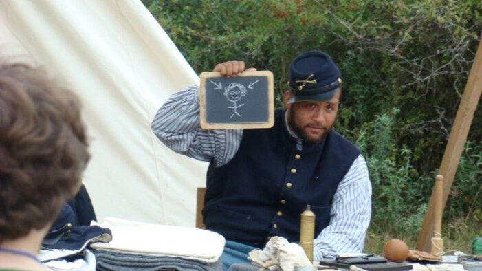 Buffalo Soldiers come to life at state park