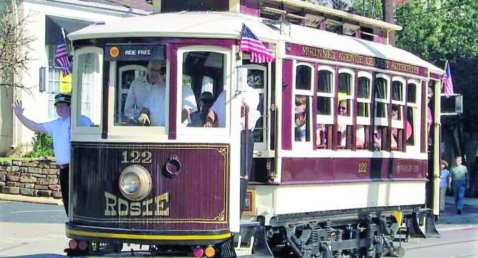 Heritage streetcars celebrate 32 years
