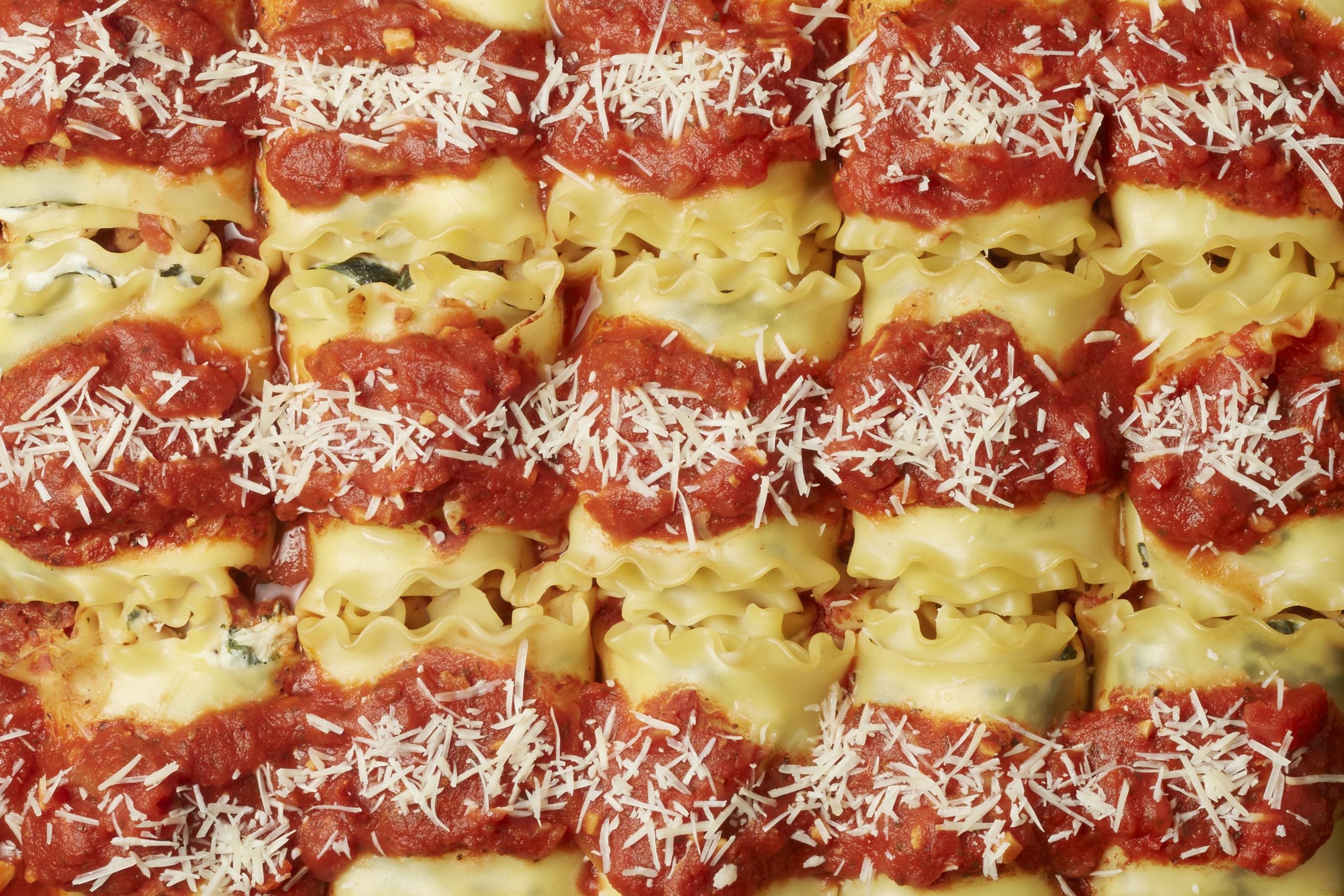 lasagna texture copy