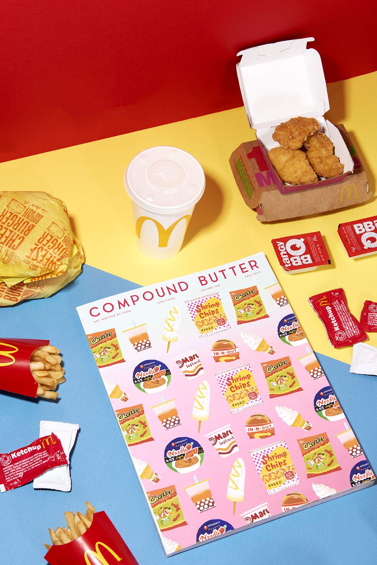 Compund Butter – Junk Food – McDonalds Tri Color – web