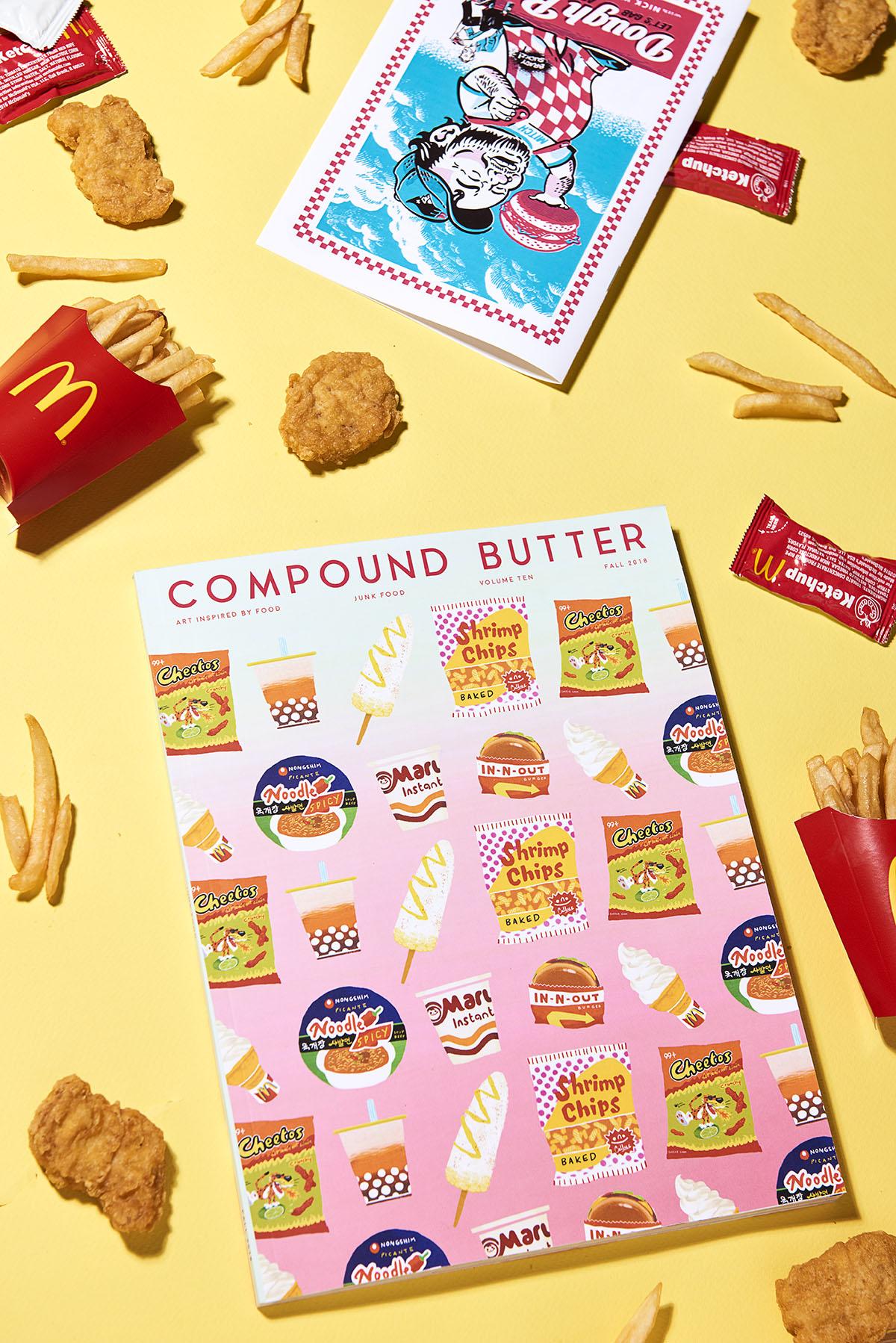 Compund Butter – Junk Food – McDonalds Yellow – web