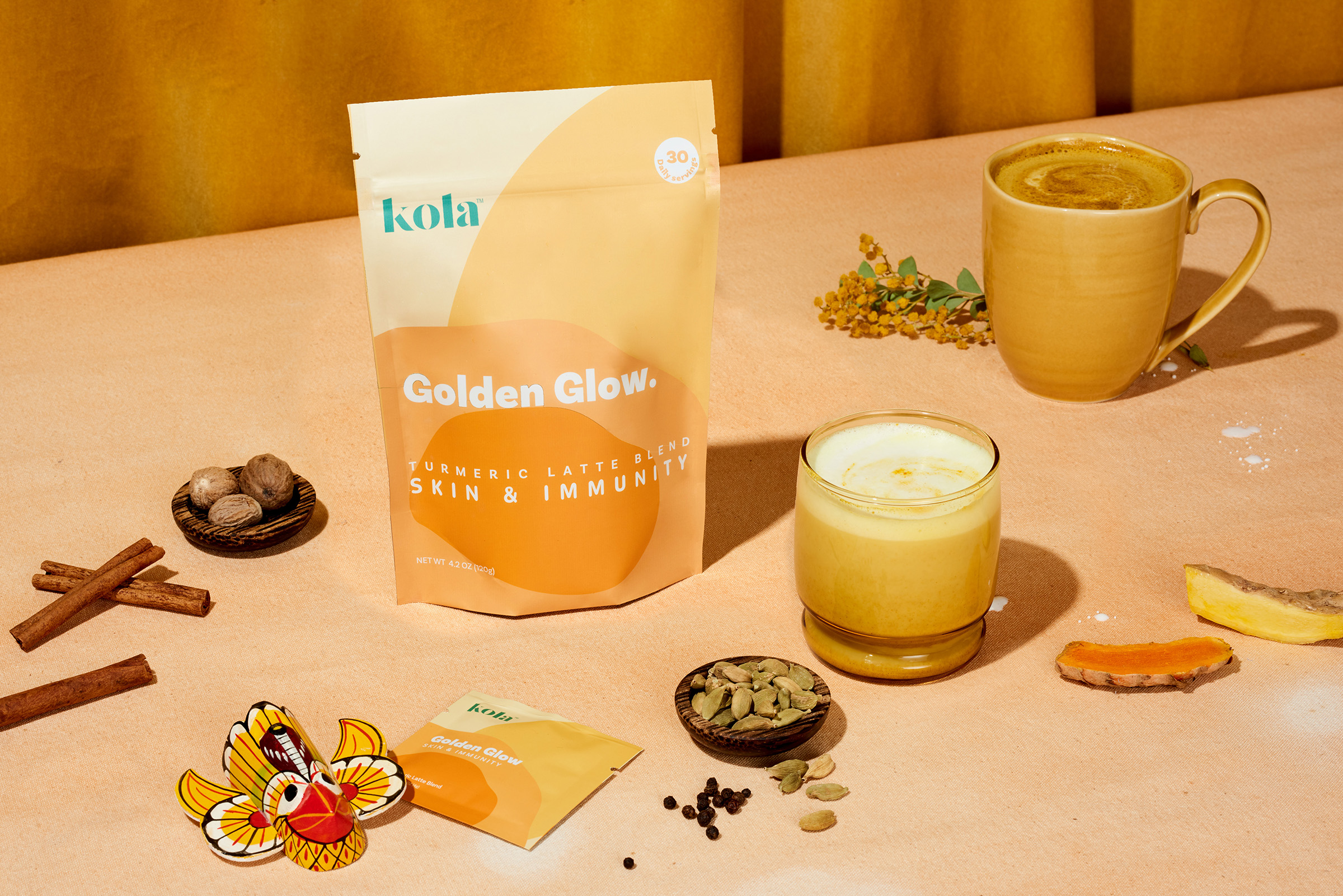 Kola — Golden Glow SUP webs
