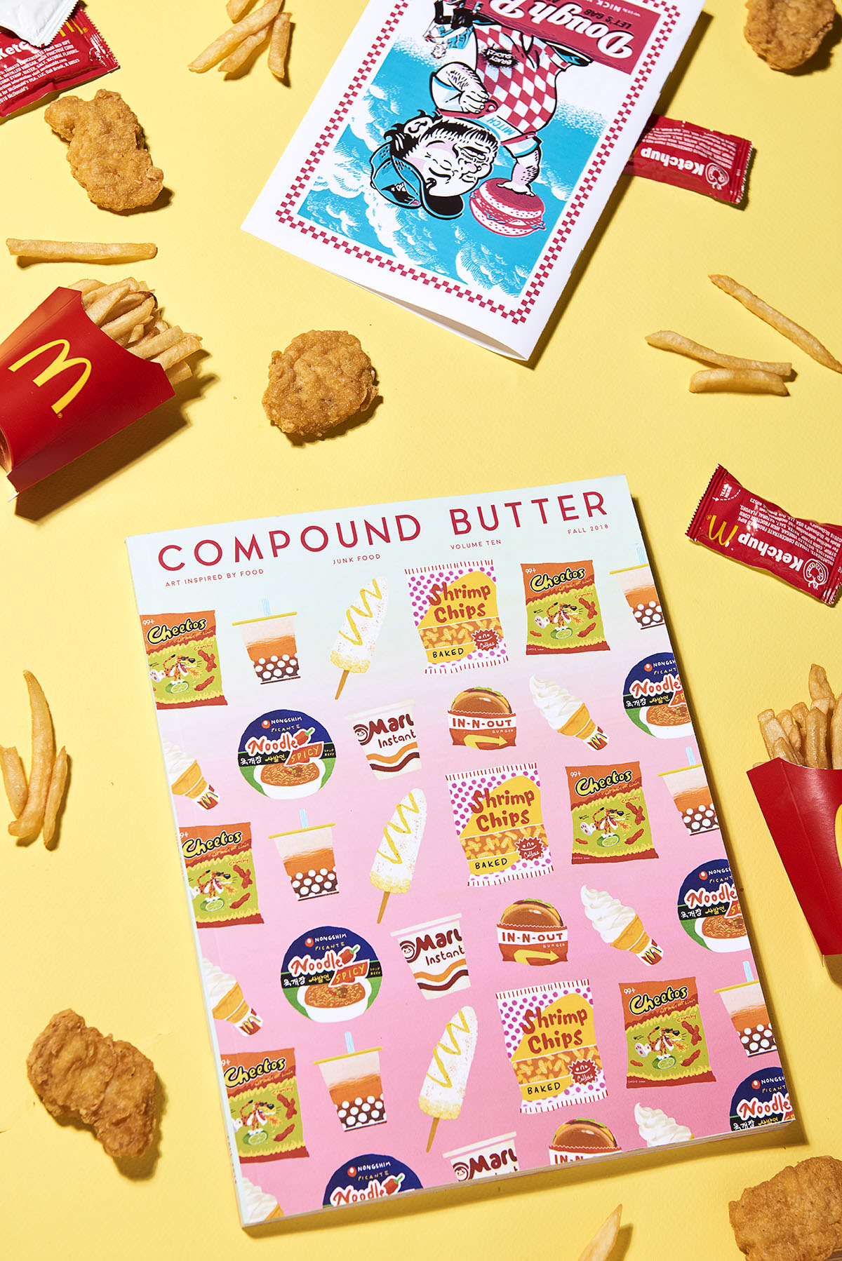 Yasara Gunawardena – Compund Butter – Junk Food – McDonalds Yellow