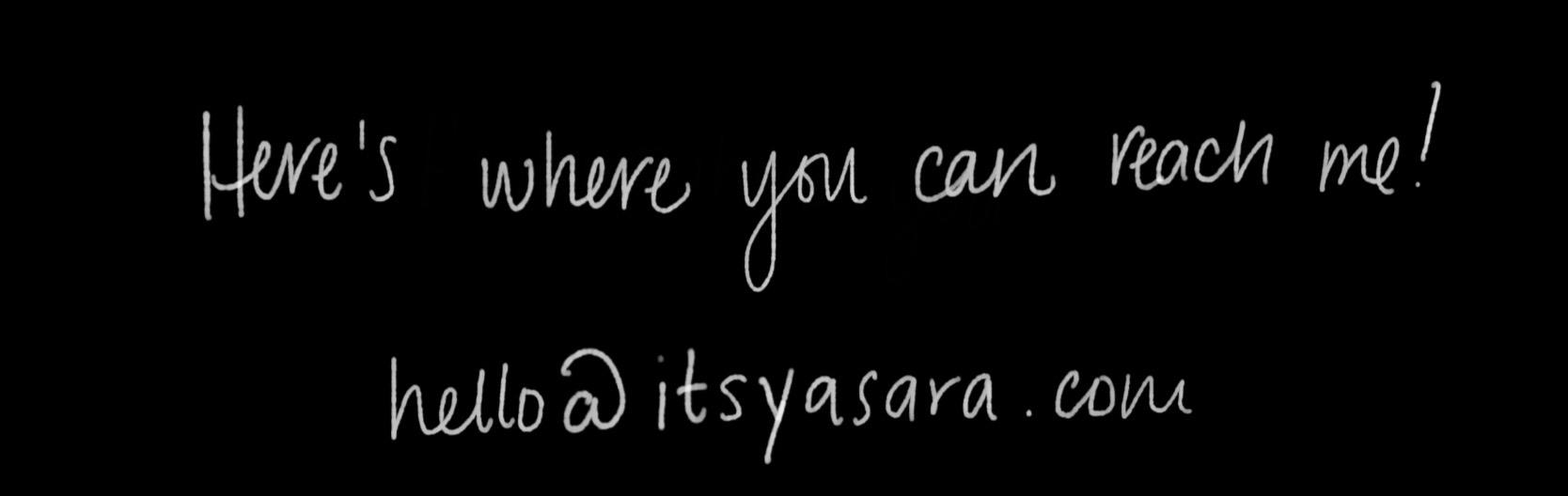 itsyasara_email