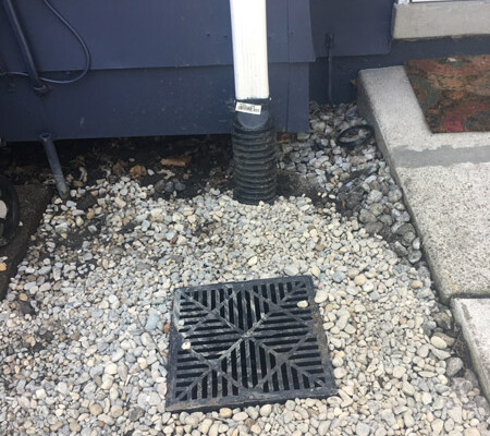 drain tile installation