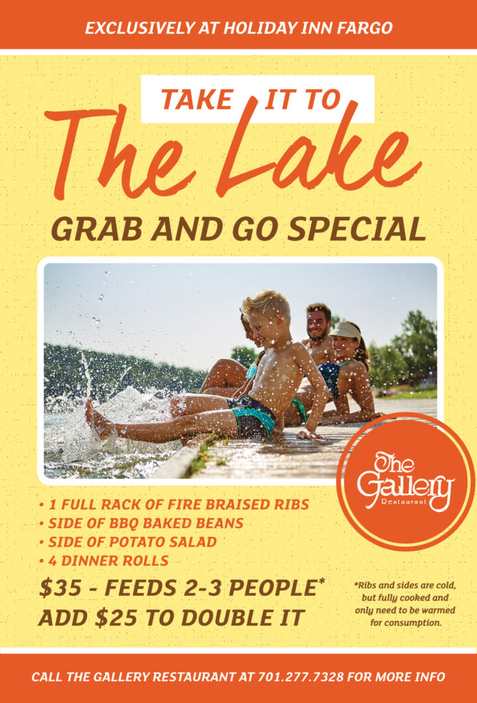 Take It To The Lake Grab and Go Special Flyer