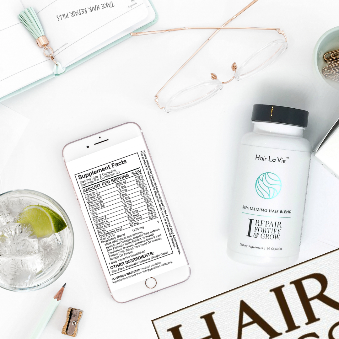 Female hair loss vitamins by beauty after forty