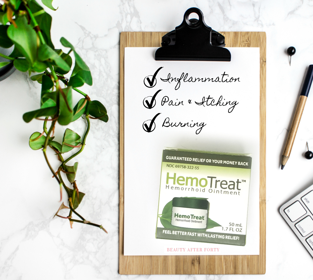 Over The Counter Hemorrhoid Treatment by Beauty After Forty