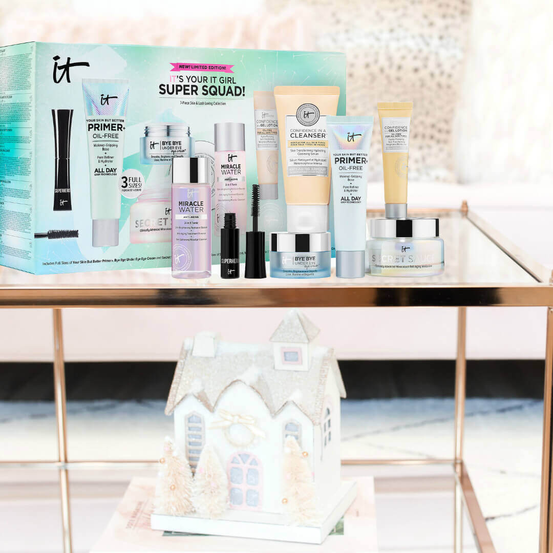 IT's Your IT Girl Super Squad Itcosmetics Holiday gift set by Beauty After Forty