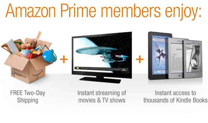 gift amazon prime membership by beauty after forty