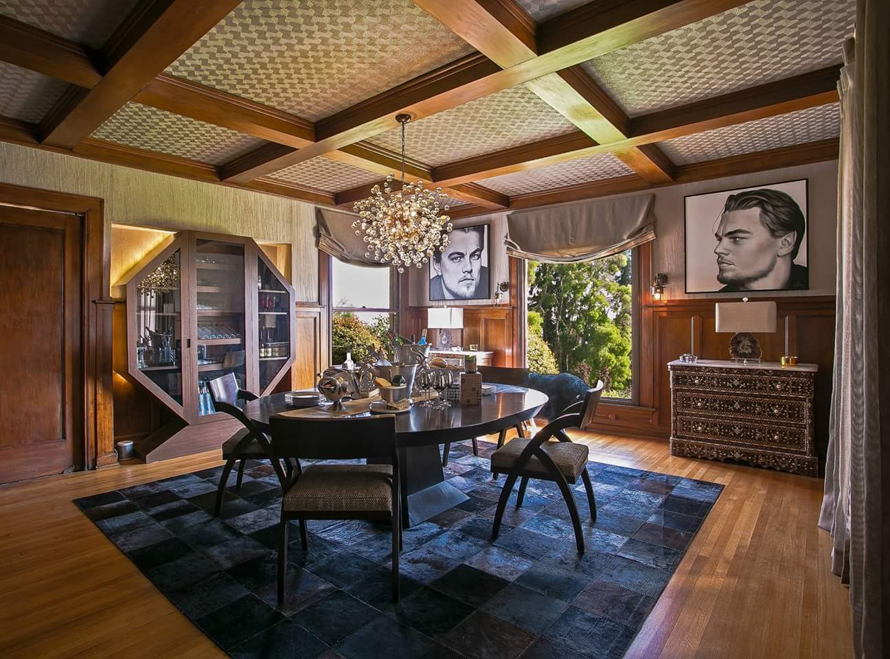 Historical Wattles Mansion Re Design by Sandra Costa