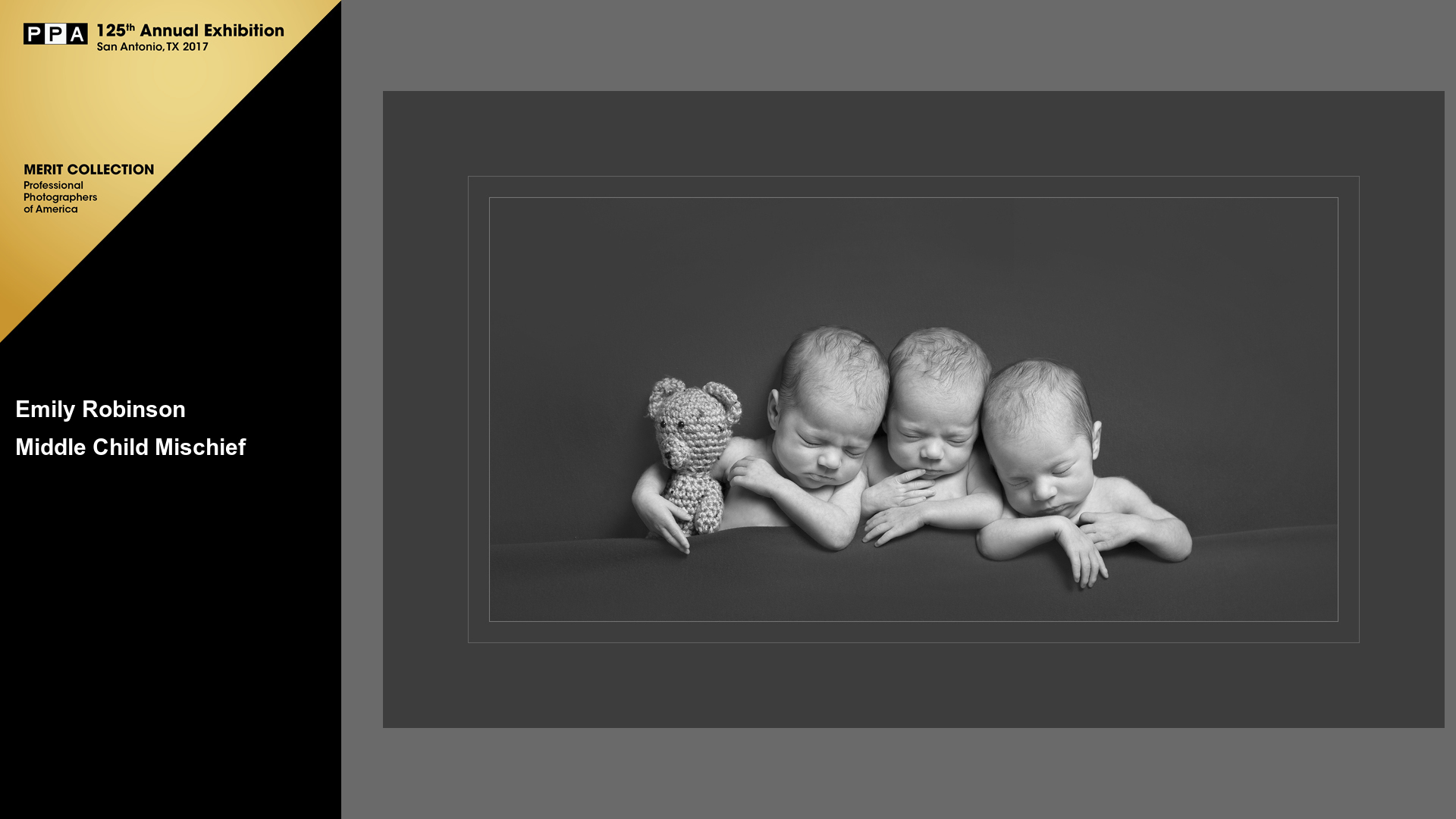 Middle Child Mischief | US Coast Guard Triplets | Award Winning Triplet Newborn Photographer