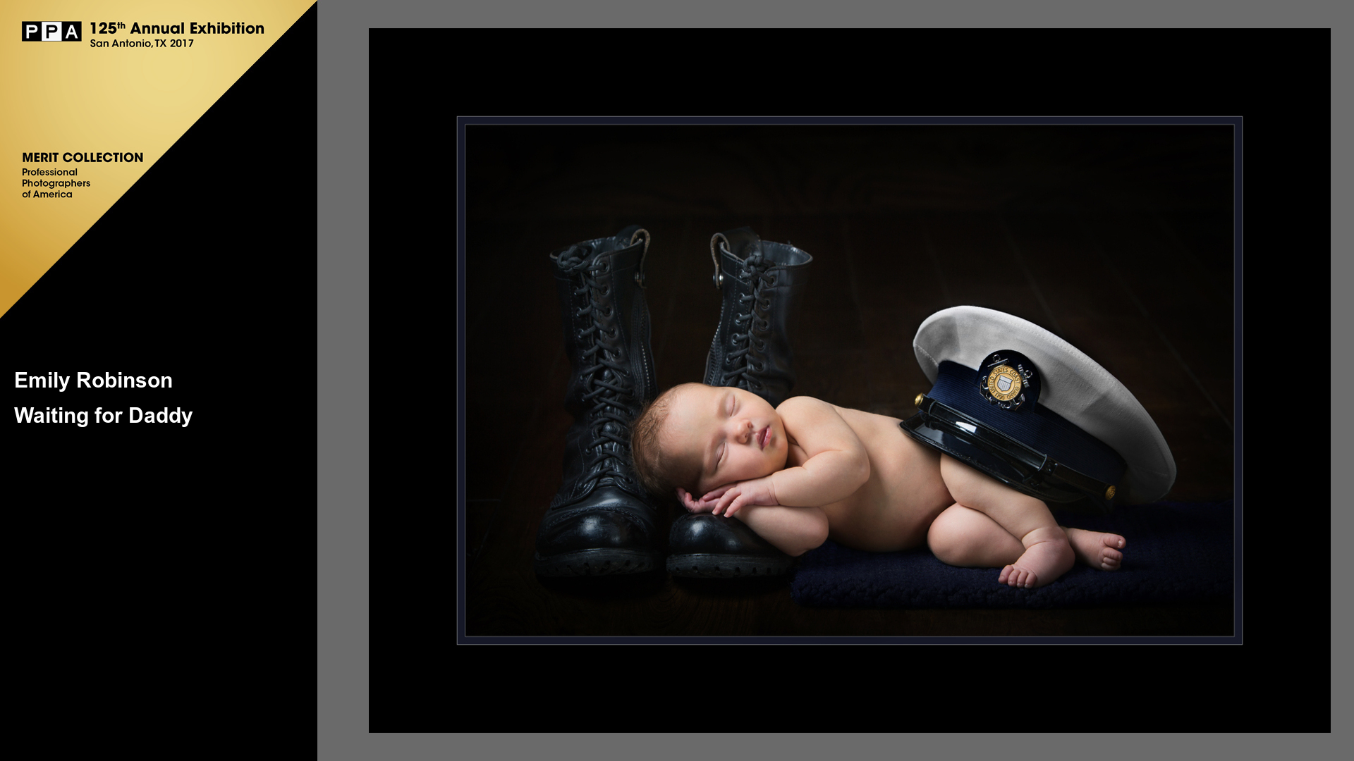 Waiting for Daddy | USCG | Award Winning Newborn Photos