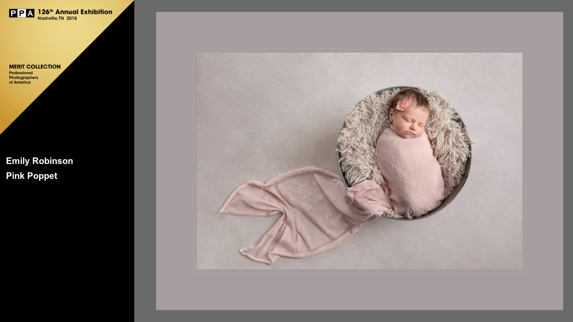 Pink Poppet | Award Winning Baby Photographer