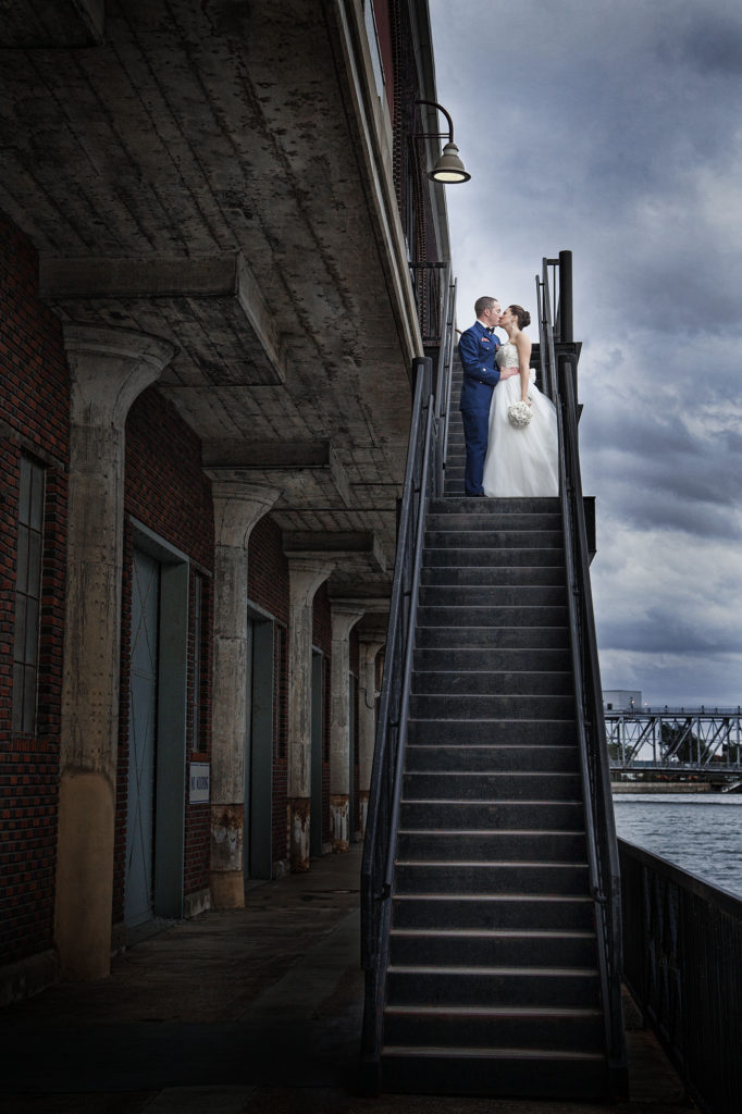 Buffalo Photographer, USCG Wedding