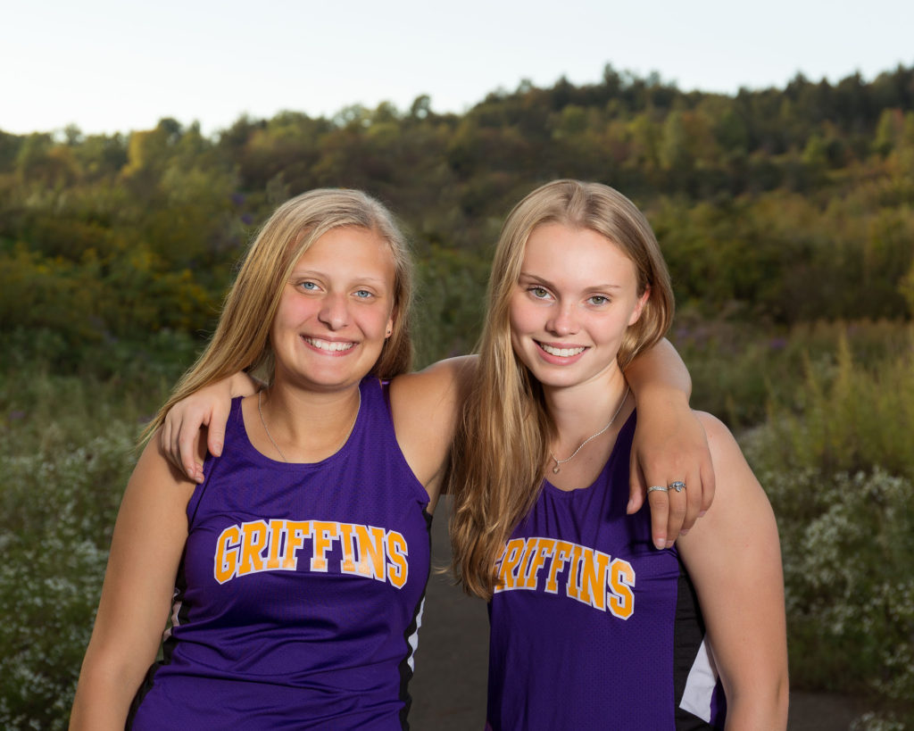 Cross Country Best Friends Springville Senior Photos