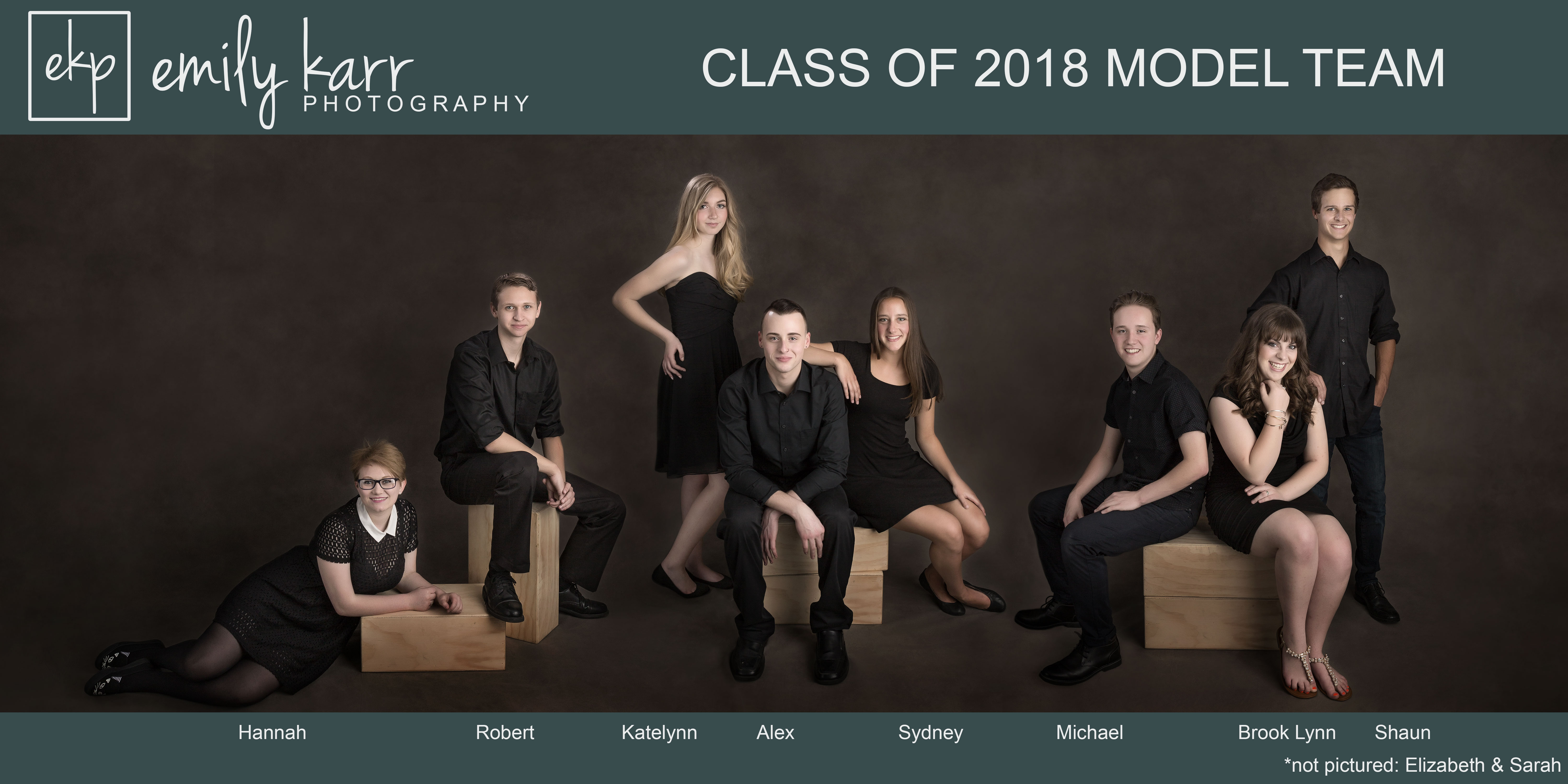 Western NY Senior Photographer Class of 2018 Model Team
