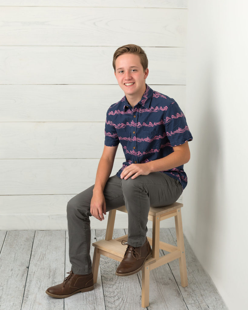 indoor senior photos, springville senior pics