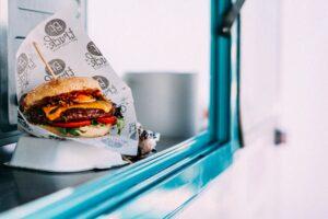 fast food burger image