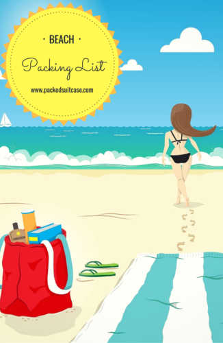 pin- Beach Packing List