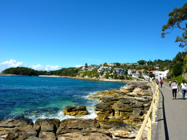 Part of the Manly Scenic Walkway