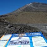 Mt. Tongariro's Erupting