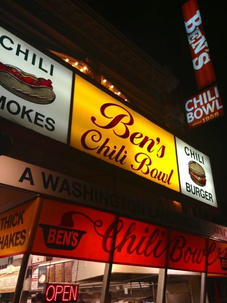 Ben's Chili Bowl- ext