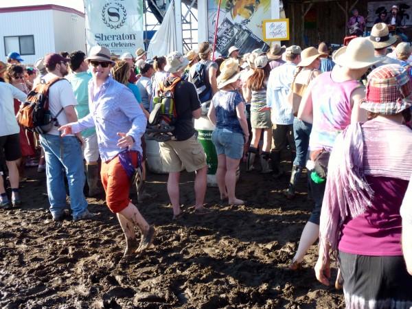 Jazz Fest- Mud Fest