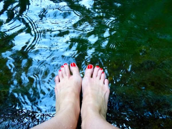 White Oak Canyon- feet