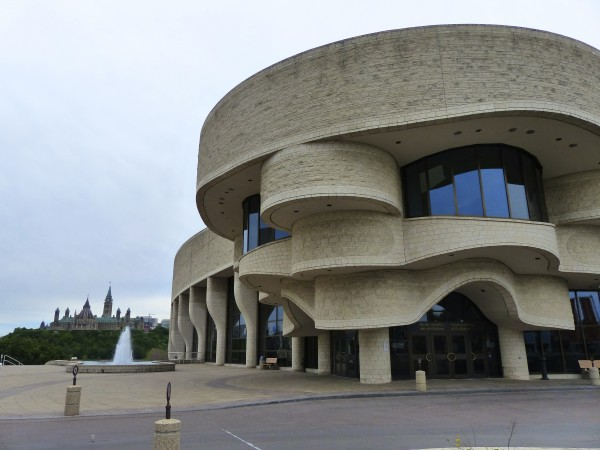 Civilization Museum exterior in Ottawa