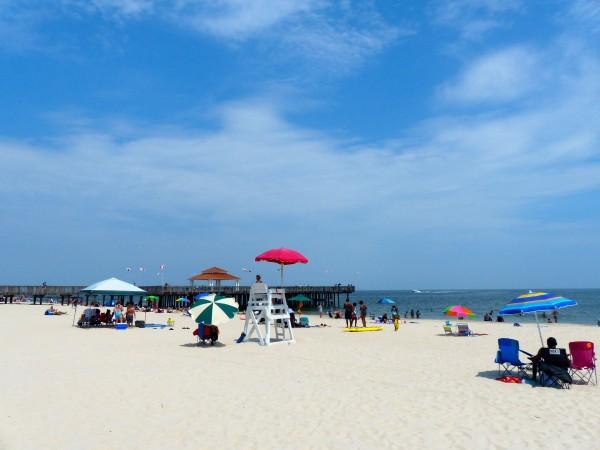 Buckroe Beach- wide shot 2