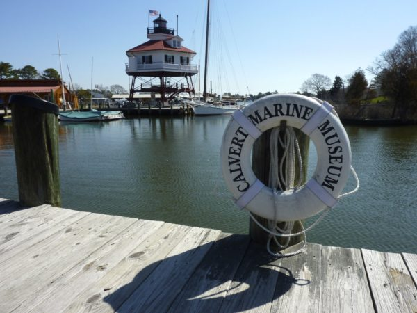 Calvert Marine Museum- lighthouse
