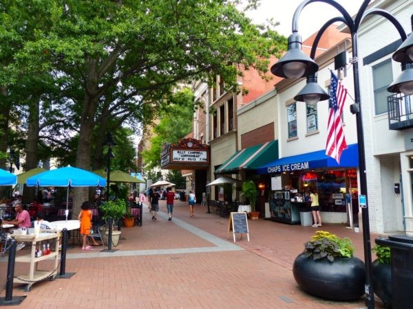 Charlottesville Historic Mall