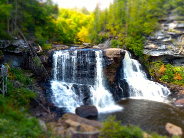 Blackwater Falls artistic