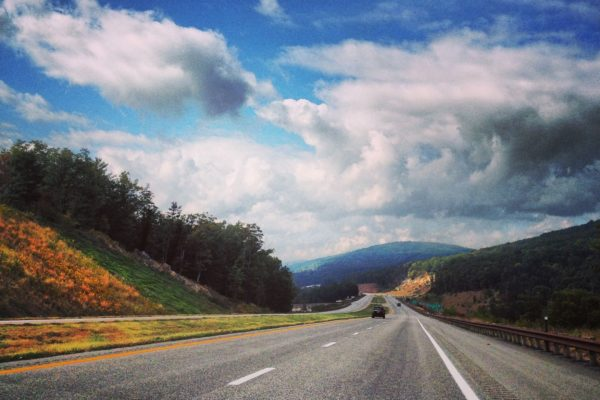 Driving through West Virginia 2