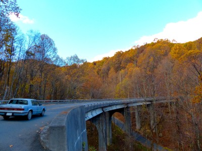Blue Ridge Parkway- old bridge 3