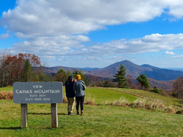 Blue Ridge Parkway- taking photos