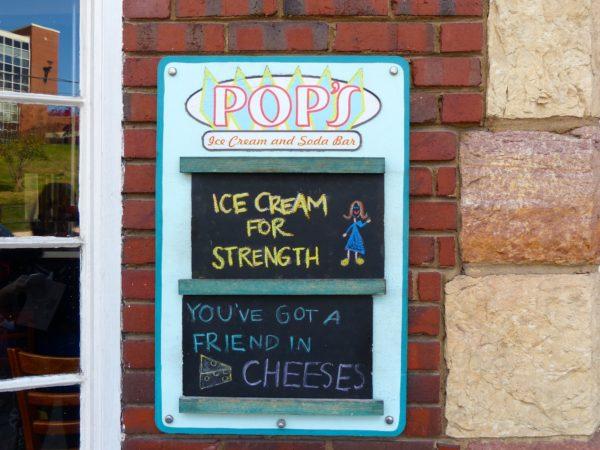 Pops- sign