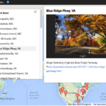 """New Feature: """"My Travel Map"""""""