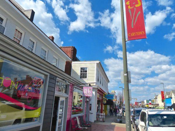 Carytown- street