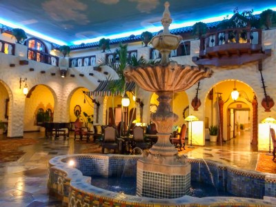 Hotel Hershey- historic lobby