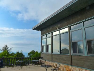 Skyland Resort- outside patio