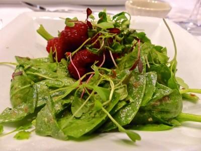 Skyland Resort- Vintner's Dinner- Salad