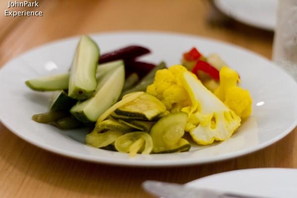 Pasture- pickled veggies