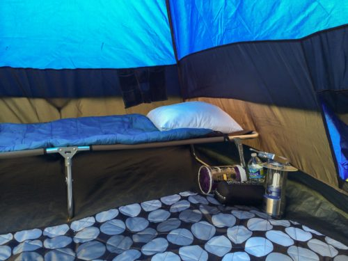 my tent aka the taj mahal