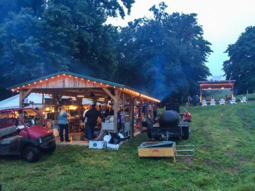 Lambstock-- the main pavilion