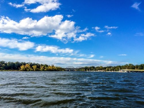 Day Trip to Occoquan- Rivershore Charters ride