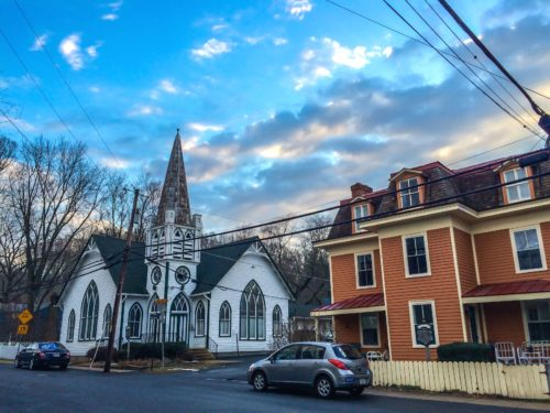 Clifton, Virginia-- Church