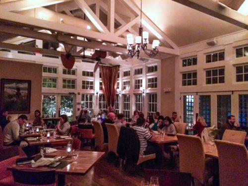 Clifton, Virginia-- Trummers on Main- Sunday dining room