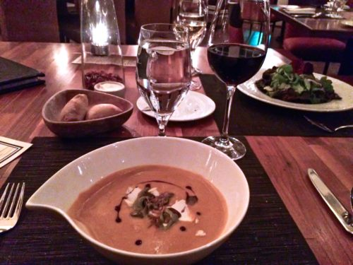 Clifton Virginia-- Trummers on Main- butternut squash soup